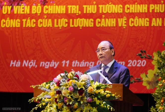 Thủ tướng Nguyễn Xuân Phúc phát biểu tại buổi làm việc