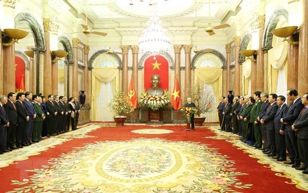 Tổng Bí thư, Chủ tịch nước Nguyễn Phú Trọng: Kinh tế tăng trưởng nhanh chưa từng có ảnh 1