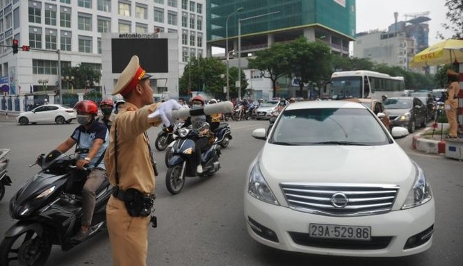 Tình hình trật tự an toàn giao thông trong 2 tháng đầu năm được đảm bảo. Ảnh: Cục CSGT.