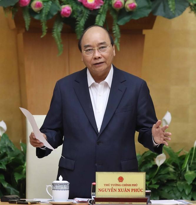 Thủ tướng Nguyễn Xuân Phúc phát biểu tại cuộc làm việc. Ảnh: VGP.