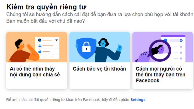 3 điều cần quan tâm để đảm bảo an toàn khi kết nối trực tuyến bằng Facebook ảnh 1
