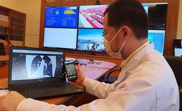 Thái Nguyên kết nối khám, chữa bệnh từ xa với 13 tỉnh thành phía Bắc ảnh 2