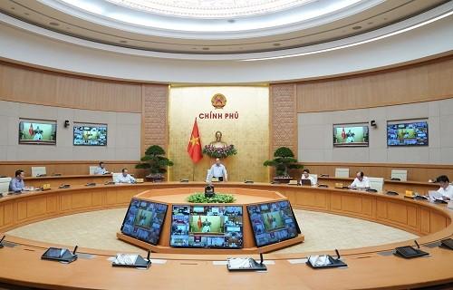 Thủ tướng đề nghị tiếp tục triển khai công việc theo hình thức trực tuyến trên môi trường mạng ảnh 1