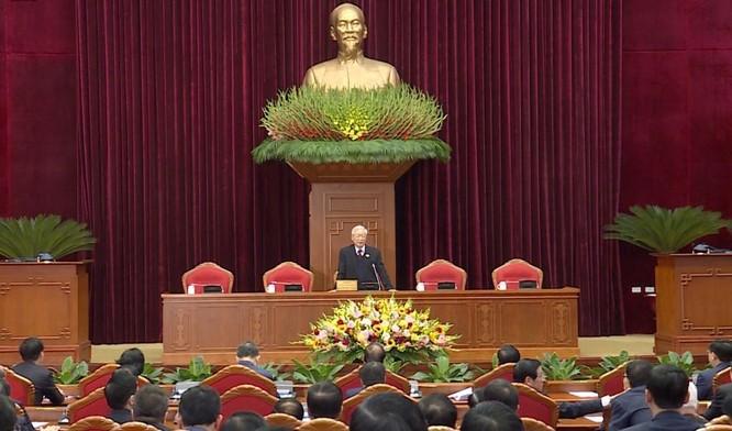 Ông Nguyễn Phú Trọng chủ trì Hội nghị lần thứ I Ban Chấp hành Trung ương Đảng khoá XIII ảnh 1