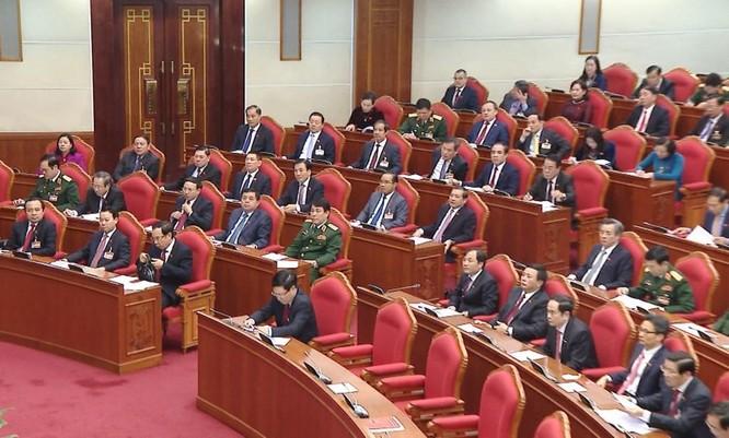 Ông Nguyễn Phú Trọng chủ trì Hội nghị lần thứ I Ban Chấp hành Trung ương Đảng khoá XIII ảnh 11