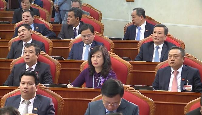 Ông Nguyễn Phú Trọng chủ trì Hội nghị lần thứ I Ban Chấp hành Trung ương Đảng khoá XIII ảnh 12