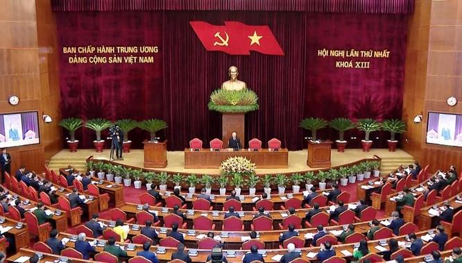 Ông Nguyễn Phú Trọng chủ trì Hội nghị lần thứ I Ban Chấp hành Trung ương Đảng khoá XIII ảnh 2