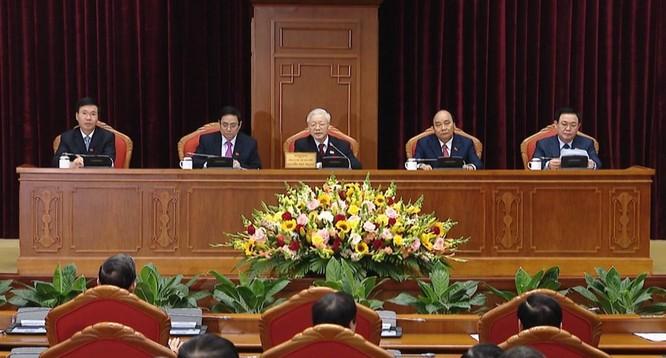 Ông Nguyễn Phú Trọng chủ trì Hội nghị lần thứ I Ban Chấp hành Trung ương Đảng khoá XIII ảnh 4