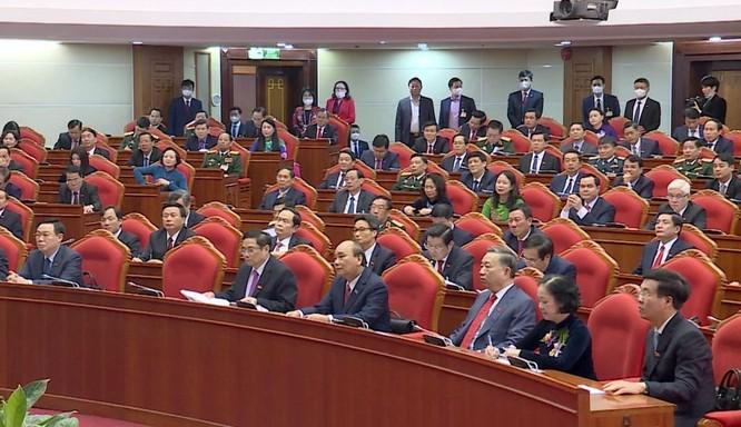 Ông Nguyễn Phú Trọng chủ trì Hội nghị lần thứ I Ban Chấp hành Trung ương Đảng khoá XIII ảnh 6