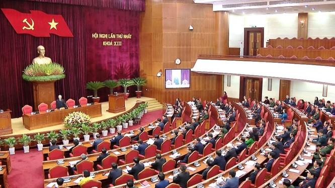 Ông Nguyễn Phú Trọng chủ trì Hội nghị lần thứ I Ban Chấp hành Trung ương Đảng khoá XIII ảnh 7