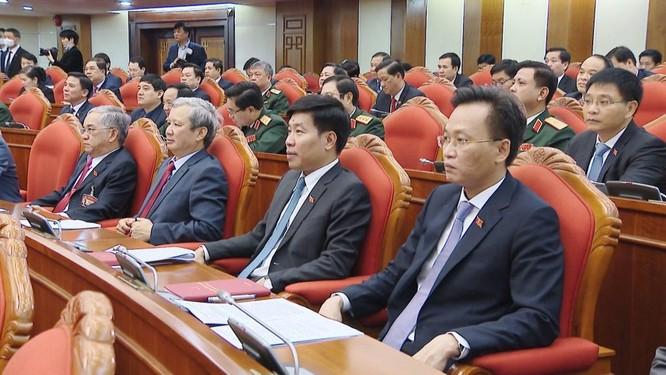 Ông Nguyễn Phú Trọng chủ trì Hội nghị lần thứ I Ban Chấp hành Trung ương Đảng khoá XIII ảnh 8