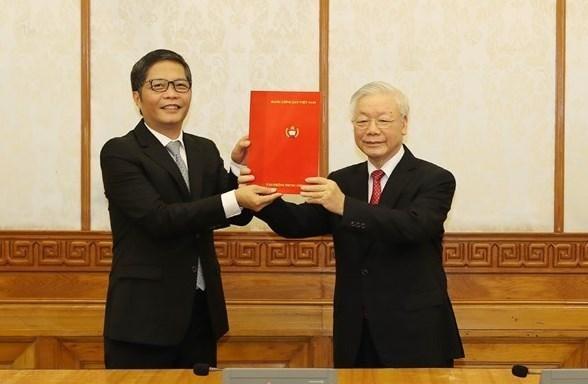 Ông Võ Văn Thưởng giữ chức Thường trực Ban Bí thư, ông Trần Tuấn Anh làm Trưởng ban Kinh tế T.Ư ảnh 1