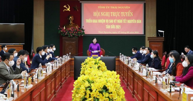 Thái Nguyên: Đảm bảo sản xuất, kinh doanh thông suốt trong bối cảnh COVID-19 ảnh 1