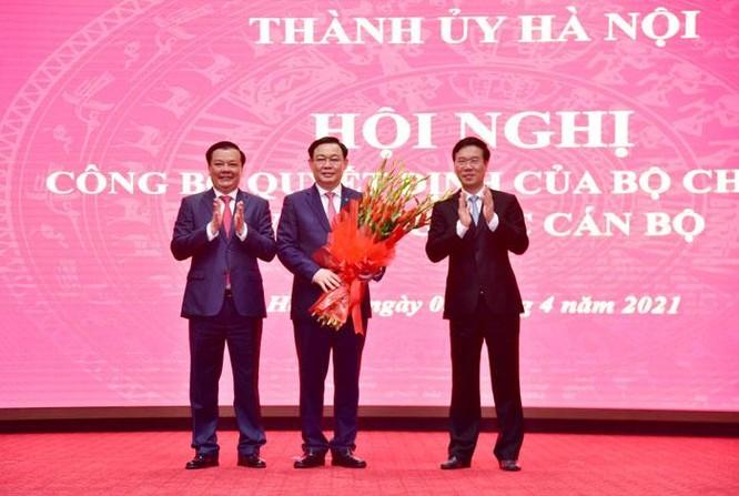 Bộ trưởng Đinh Tiến Dũng được Bộ Chính trị phân công giữ chức Bí thư Thành ủy Hà Nội ảnh 2