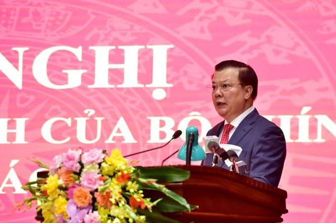Bộ trưởng Đinh Tiến Dũng được Bộ Chính trị phân công giữ chức Bí thư Thành ủy Hà Nội ảnh 3