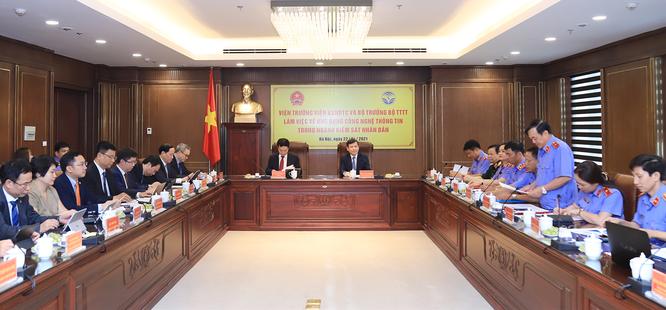 Bộ trưởng Nguyễn Mạnh Hùng: Phát triển ứng dụng thông minh để tránh sai sót trong điều tra, xét xử ảnh 2