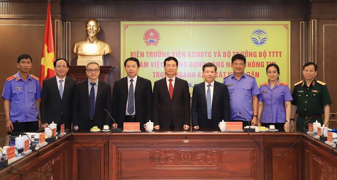 Bộ trưởng Nguyễn Mạnh Hùng: Phát triển ứng dụng thông minh để tránh sai sót trong điều tra, xét xử ảnh 1