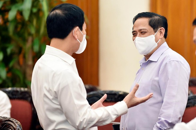 Thủ tướng Phạm Minh Chính định hướng xây dựng Việt Nam số: Phải dựa trên đổi mới sáng tạo ảnh 4