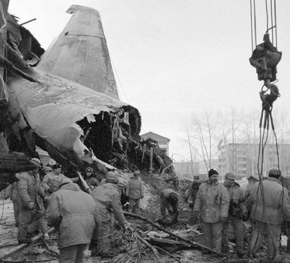 Sự cố rơi máy bay AN-124 năm 1997 ở Nga ảnh 1