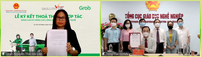 Grab Việt Nam và Bộ LĐ-TB-XH ký hợp tác đào tạo kỹ năng tài xế ảnh 1