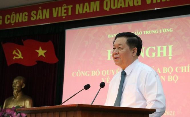 Ông Lê Quốc Minh giữ chức Phó Trưởng Ban Tuyên giáo Trung ương ảnh 1