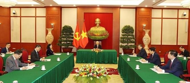 Tổng Bí thư Nguyễn Phú Trọng đề nghị Việt Nam và Trung Quốc cùng xây dựng đường biên giới hòa bình ảnh 2