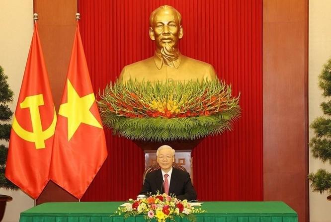 Tổng Bí thư Nguyễn Phú Trọng đề nghị Việt Nam và Trung Quốc cùng xây dựng đường biên giới hòa bình ảnh 1