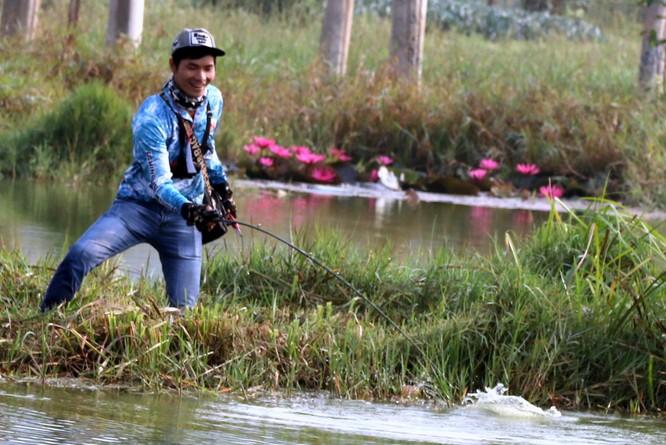 Cuộc thi câu cá lóc Tây Nguyên ảnh 16