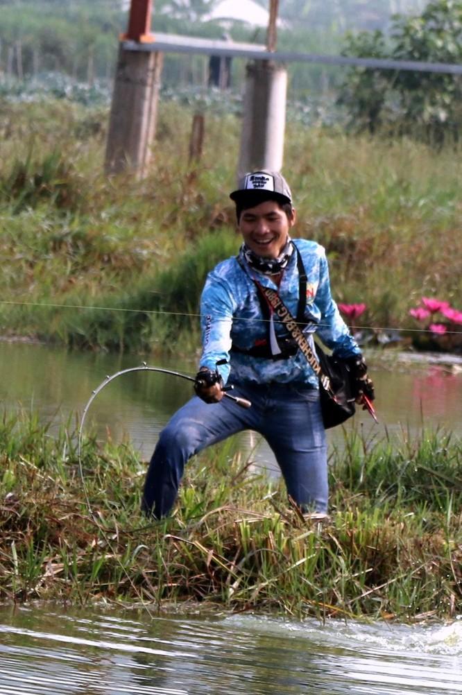 Cuộc thi câu cá lóc Tây Nguyên ảnh 17