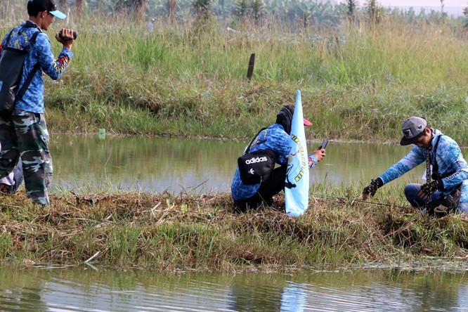 Cuộc thi câu cá lóc Tây Nguyên ảnh 19