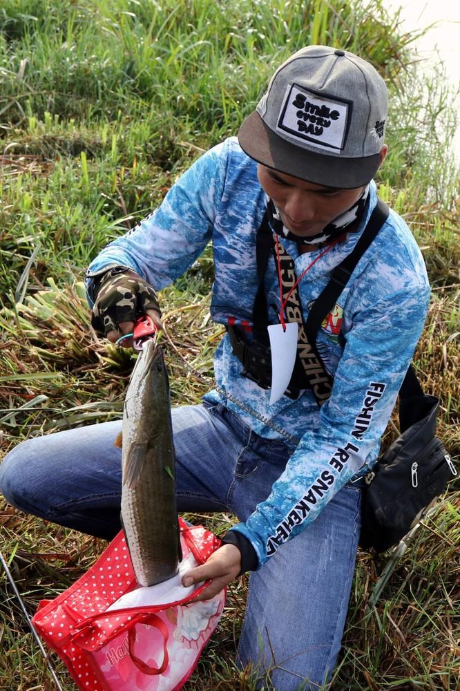 Cuộc thi câu cá lóc Tây Nguyên ảnh 20
