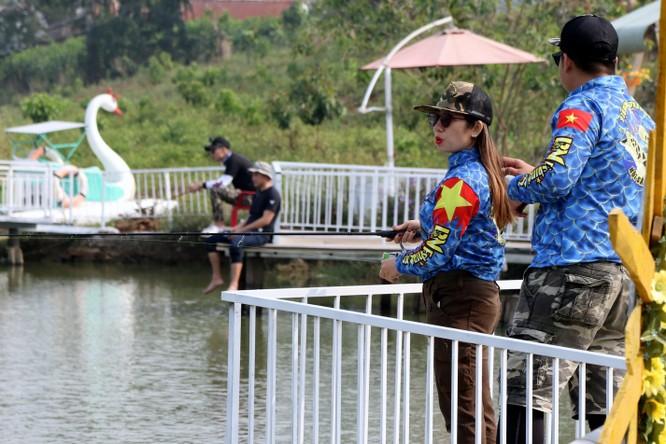 Cuộc thi câu cá lóc Tây Nguyên ảnh 32