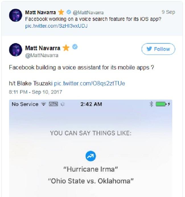 Lộ bằng chứng Facebook đang xây dựng trợ lý ảo giống Siri ảnh 1