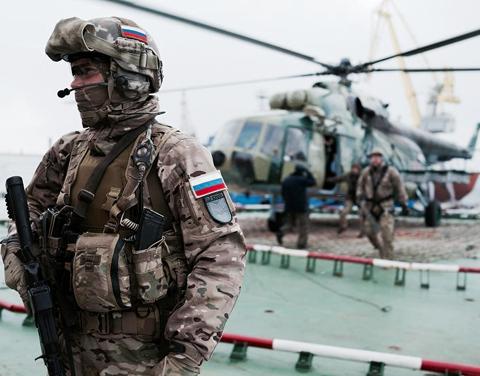 Lực lượng đặc nhiệm Nga nổi tiếng thiện chiến và dũng cảm chiến đấu tại Syria (ảnh: Business Insider)