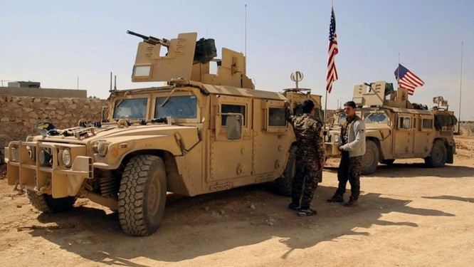 Đặc nhiệm Mỹ có mặt tại Syria hậu thuẫn người Kurd và phiến quân FSA...