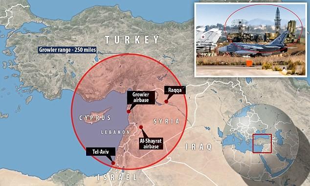 Sự hiện diện của S-400 tại chiến trường Syria khiến nhiều tính toán phải thay đổi