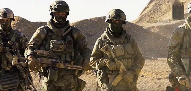 Đặc nhiệm Nga trực tiếp tham chiến, giải phóng nhiều thành phố lớn của Syria