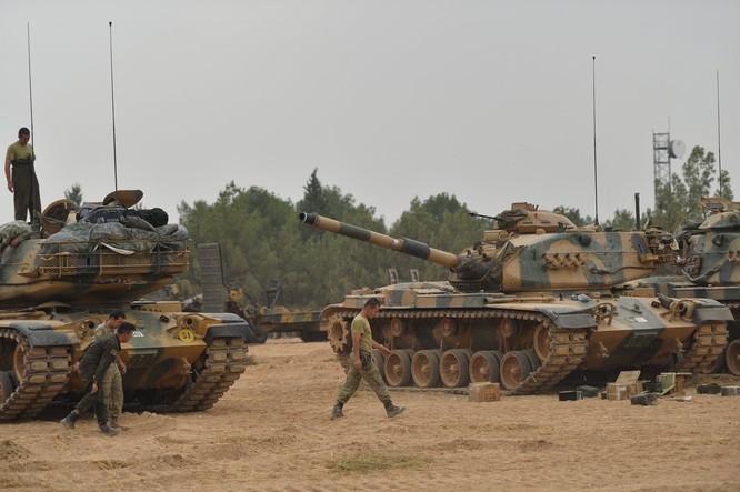 Thổ Nhĩ Kỳ đã điều quân vào miền bắc Syria để ngăn chặn người Kurd