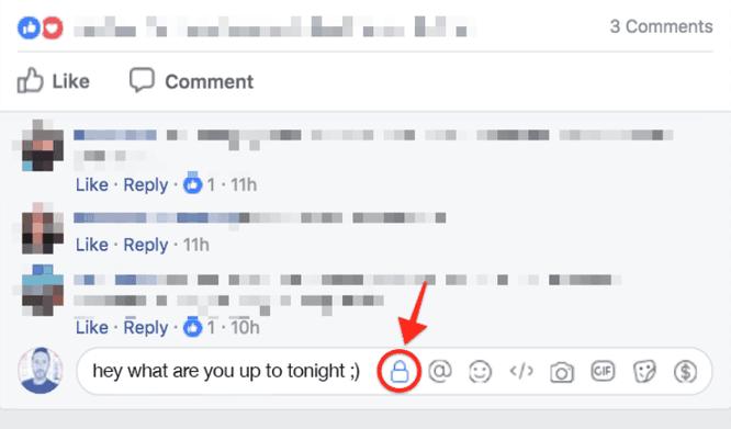 """Facebook thử nghiệm tính năng """"bình luận riêng tư"""" giúp tránh cãi nhau với """"trẻ trâu"""" ảnh 1"""
