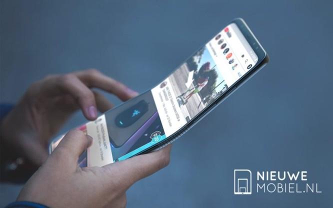 Smartphone có thể gập lại của Samsung mang tên Galaxy F sẽ ra mắt cuối năm nay? ảnh 1
