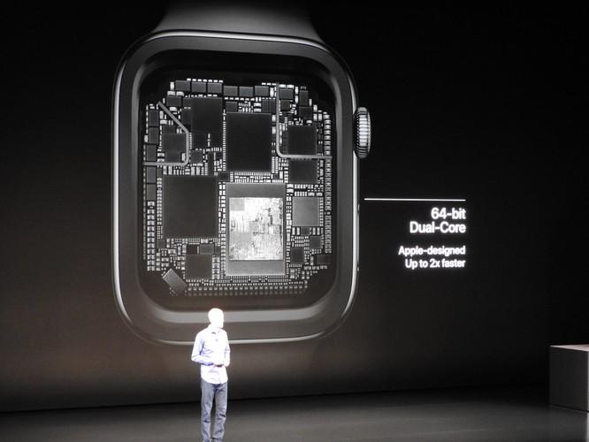 Apple ra Apple Watch Series 4, lần đầu tiên thiết kế lại hoàn toàn Apple Watch, màn hình lớn hơn, chip S4 mới ảnh 1