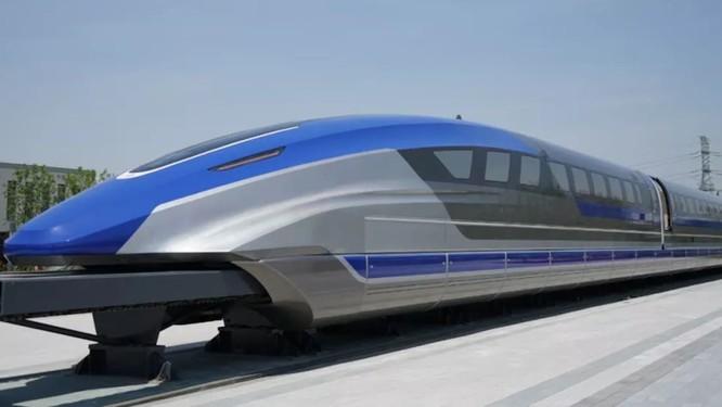 Tàu đệm từ siêu tốc sẽ di chuyển từ Bắc Kinh tới Thượng hải chỉ trong vòng 3,5 giờ đồng hồ (Ảnh: CNN)