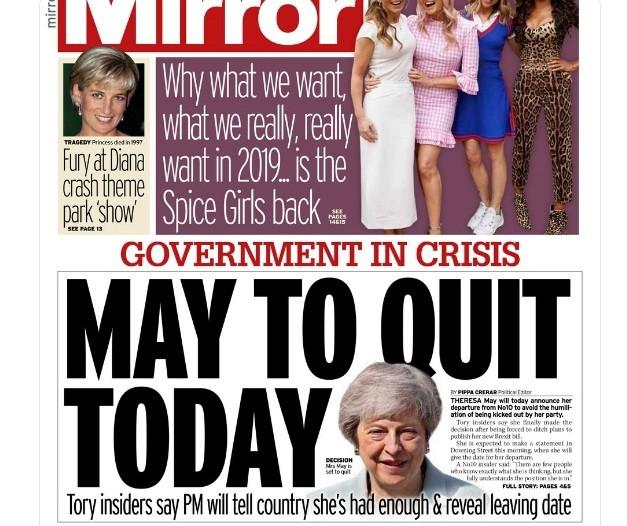 Thủ tướng Anh Theresa May tuyên bố từ chức trong nước mắt ảnh 1