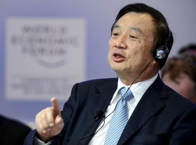 Giám đốc điều hành Huawei Nhậm Chính Phi (Ảnh: Fortune)