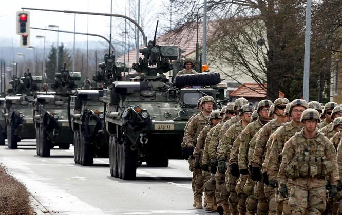 Estonia là nơi có lượng lớn binh sỹ Mỹ đồn trú (Ảnh: Newsweek)