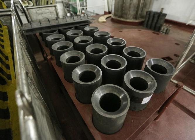 Phòng nhiên liệu hạt nhân bên trong nhà máy (Ảnh: RT)