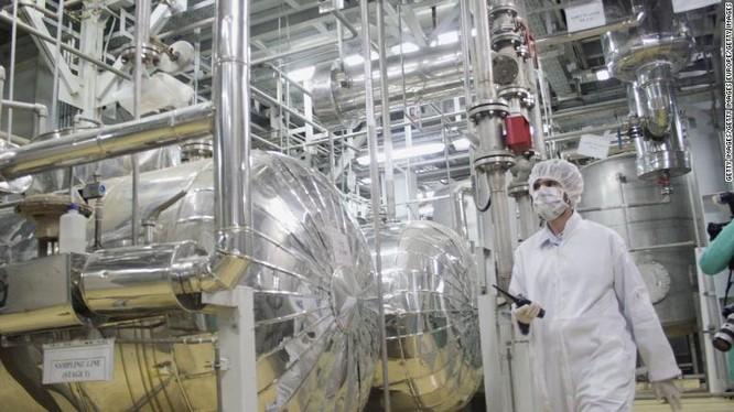 Iran đang dần từ bỏ các cam kết trong thỏa thuận hạt nhân, nhưng chưa ở mức nguy hiểm (Ảnh: CNN)