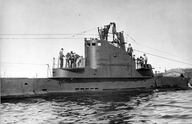 Một bức ảnh tư liệu về tàu ngầm Shch-308 Syomga bị chìm năm 1942 (Ảnh: RT)