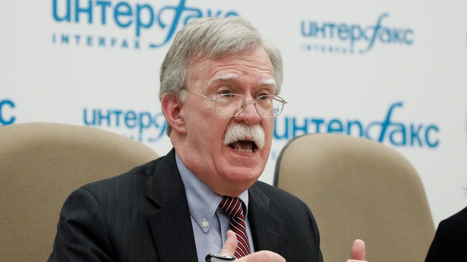Cố vấn An ninh Quốc gia Mỹ John Bolton (Ảnh: RT)