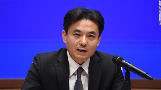 Ông Yang Guang, phát ngôn viên Văn phòng các vấn đề Hong Kong và Macau (Ảnh: CNN)